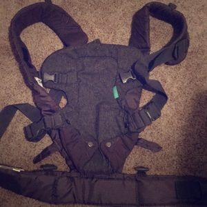 Other - Baby carrier.  Light gray. Excellent condition